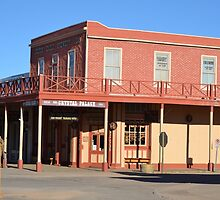 Crystal Palace - Tombstone Az.  Est. in 1800's by Ann Warrenton