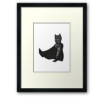 Batman/No Background Framed Print