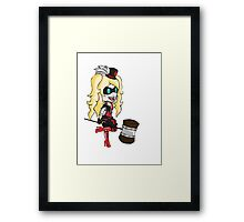 Harley Quinn/No Background Framed Print