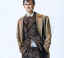 The Tenth Doctor by AnakinOs