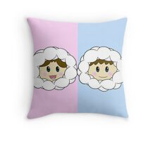 Nana and Popo (Ice Climbers) Throw Pillow