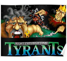 Tyrants: Fight Through Time (Genesis Title Screen) Poster