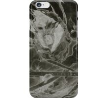 "Disturbed ""Asylum"" Inverted Pencil Sketch iPhone Case/Skin"