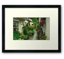 A Hawkshead Alley Framed Print