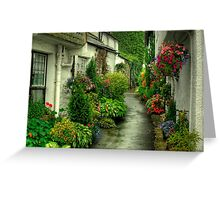 A Hawkshead Alley Greeting Card