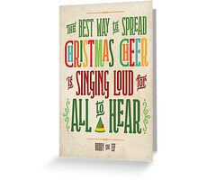 Buddy the Elf - Christmas Cheer Greeting Card