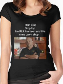 Rick Harrison  Women's Fitted Scoop T-Shirt