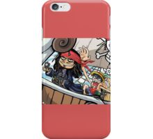 one piece pirates of the caribbean iPhone Case/Skin
