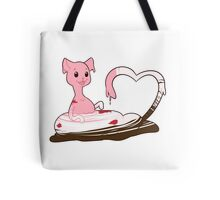 Ice Cream Kitty Love Tote Bag