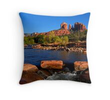 Sedona Landmark Throw Pillow