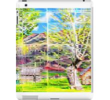 Through Glass Bricks iPad Case/Skin