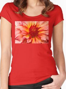 Flower - Dahlia - Natures breath taker Women's Fitted Scoop T-Shirt