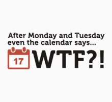 The Calendar Say WTF!? by artpolitic