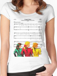 Step into my Candy Store Women's Fitted Scoop T-Shirt