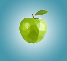 Polygon Apple by scarriebarrie