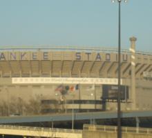 Original Yankee Stadium Sticker