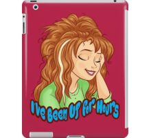 I've Been Up for Hours iPad Case/Skin