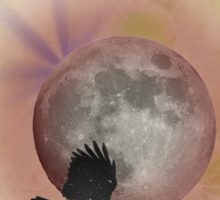 The Rook and the Moon Sticker