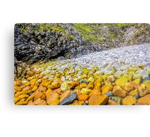 Rockscape of An Port - County Donegal, Ireland Metal Print