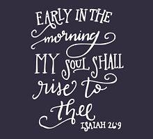 Isaiah 26:9 Unisex T-Shirt