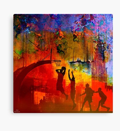 A summer in New York Canvas Print