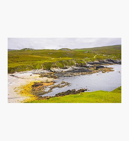 Remote Village of An Port - County Donegal, Ireland Photographic Print