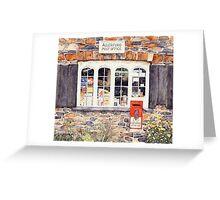 Post Office Window Greeting Card