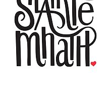 Slainte Mhath in black and red by fortissimotees