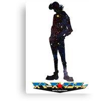 Space Dandy w/logo Canvas Print