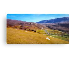 Deserted Village of An Port - County Donegal, Ireland Metal Print
