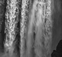 Iceland - Skógafoss Waterfall by Royston Palmer