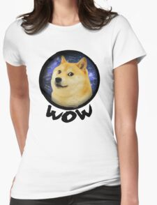 such wow - Chronicles of Doge (Volume I) Womens Fitted T-Shirt