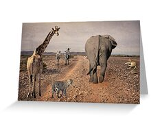 Together We Can Get There  Greeting Card