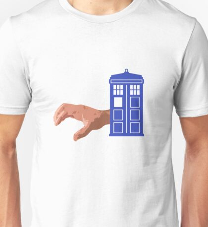 Doctor Who Flatline Crawling Hand Tardis Unisex T-Shirt