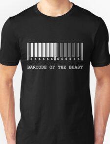 Barcode of the Beast (white) T-Shirt