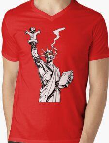 Transmetropolitan: Spider of Liberty Mens V-Neck T-Shirt