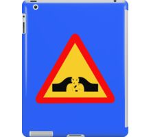 Warning: Falling Wizards 1.0 iPad Case/Skin