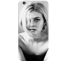Nicola Peltz Black and White iPhone Case/Skin