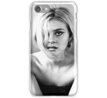 Nicola Peltz Black and White iPhone Case/Skin