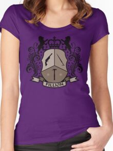 Fillion Character Crest Women's Fitted Scoop T-Shirt