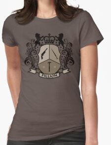 Fillion Character Crest Womens Fitted T-Shirt