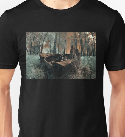 The Last Duck Hunt - Infrared Photo Unisex T-Shirt