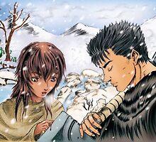 berserk caska and guts by nuriko12