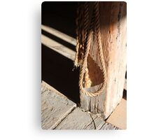 In the Barn 2 Canvas Print