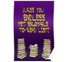 Endless to-read list Poster