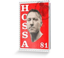 Post Hossa Greeting Card