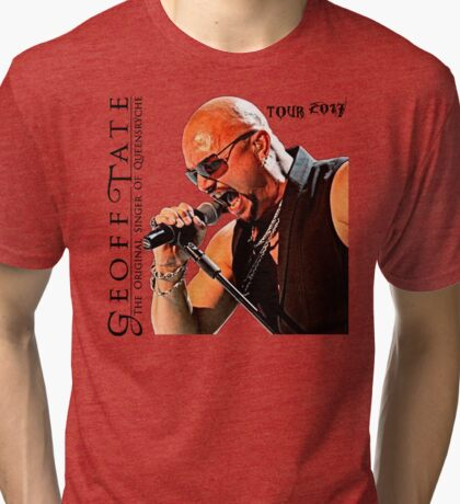 the original singer of queensryche - geoff tate limited hot cover Tri-blend T-Shirt