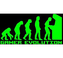 Gamer Evolution Photographic Print