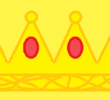 Honey, You Should See Me In A Crown | Sherlock | Yellow Sticker