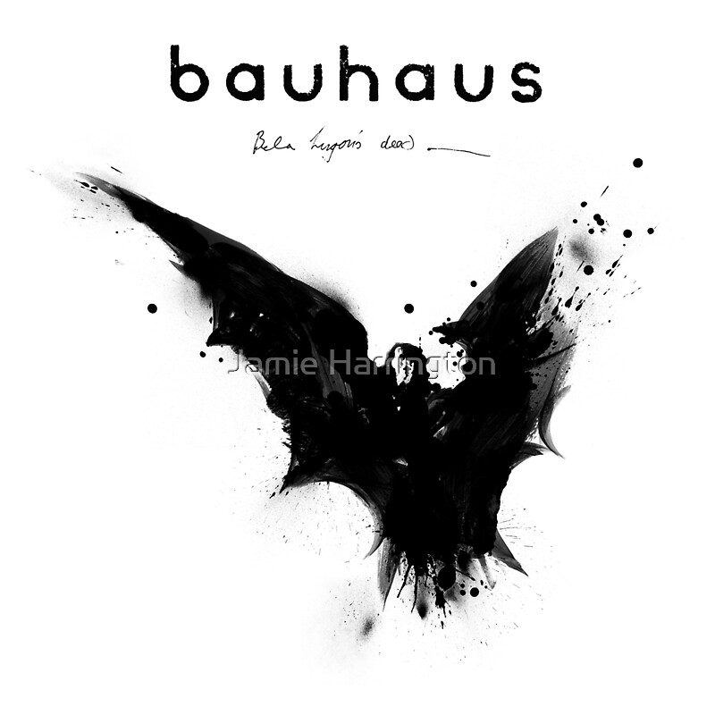 bela lugosi 39 s dead bauhaus by jamie harrington redbubble. Black Bedroom Furniture Sets. Home Design Ideas